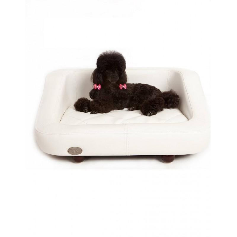 canap 233 pour chien original blanco fauteuil pour chien cuir panier pour chien