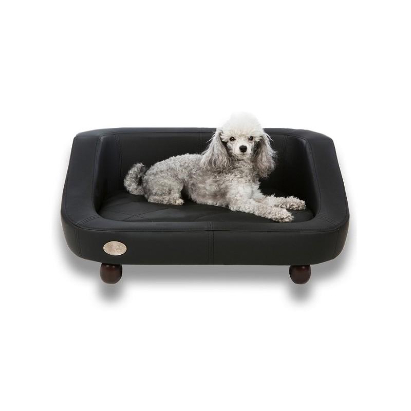 canap pour chien original nenko fauteuil pour chien cuir panier lit pour chien. Black Bedroom Furniture Sets. Home Design Ideas