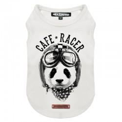 Tshirt pour chien PANDA RACER - Milk&Pepper