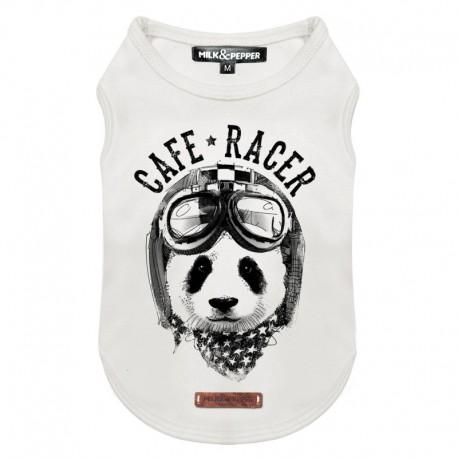 Tshirt pour chien Panda Racer - T-shirt pour chien Milk&Pepper