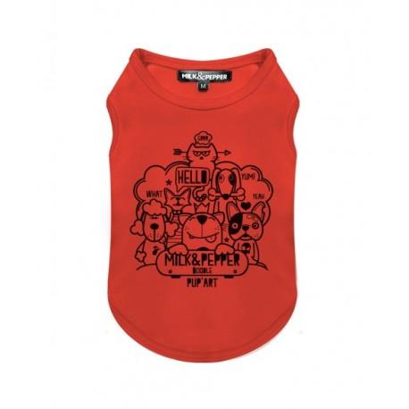 Tshirt pour chien Doodle - T-shirt pour chien Milk&Pepper