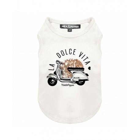 Tshirt pour chien paradisio - T-shirt pour chien Milk&Pepper