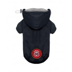 IMPERMEABLE POUR CHIEN A CAPUCHE - WINCH NAVY - MILK AND PEPPER
