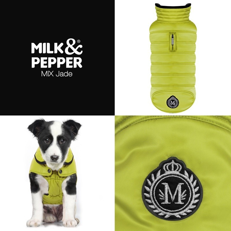 manteau pour chien chic doudone chien mix anis milk and pepper. Black Bedroom Furniture Sets. Home Design Ideas