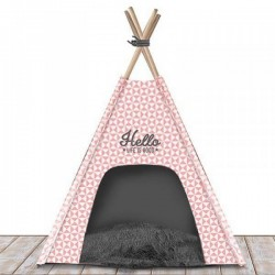 Couchage pour chien TEEPEE Ligfe Is Good Rose