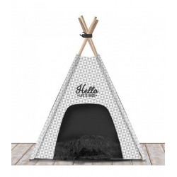 Couchage pour chien TEEPEE Ligfe Is Good gris