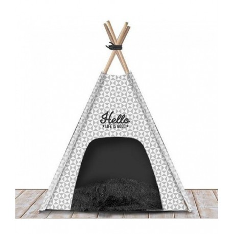couchage chien - lit pour chien chic - teepee milk and pepper