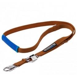 Laisse pour chien Sport - Marron Bleu