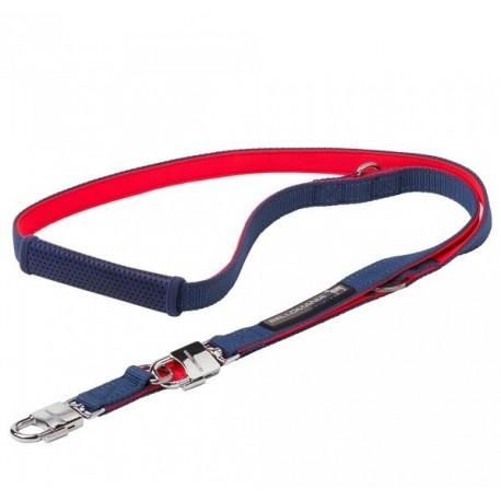 Laisse pour chien Sport orange et bleu - Promenade chien Bellomania