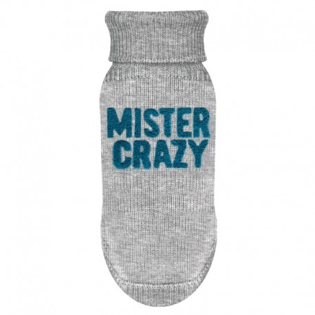 PULL POUR CHIEN - Vetement chien chic CRAZY - MILK AND PEPPER