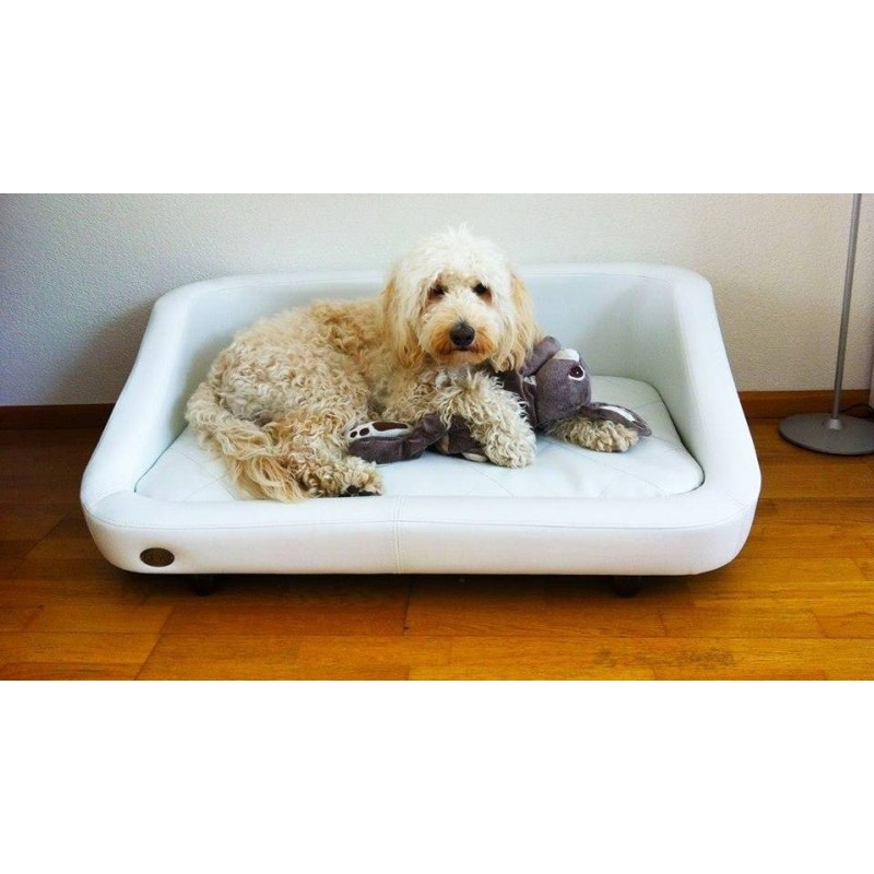 Canap pour chien original blanco fauteuil pour chien for Canape pour chien