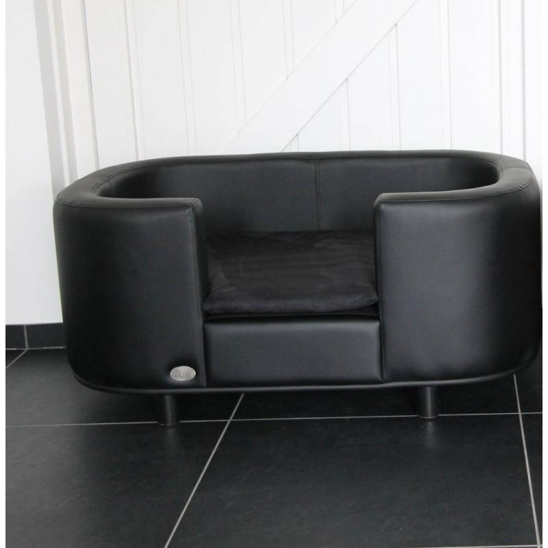 Canap pour chien original anto fauteuil pour chien cuir for Canape pour chien