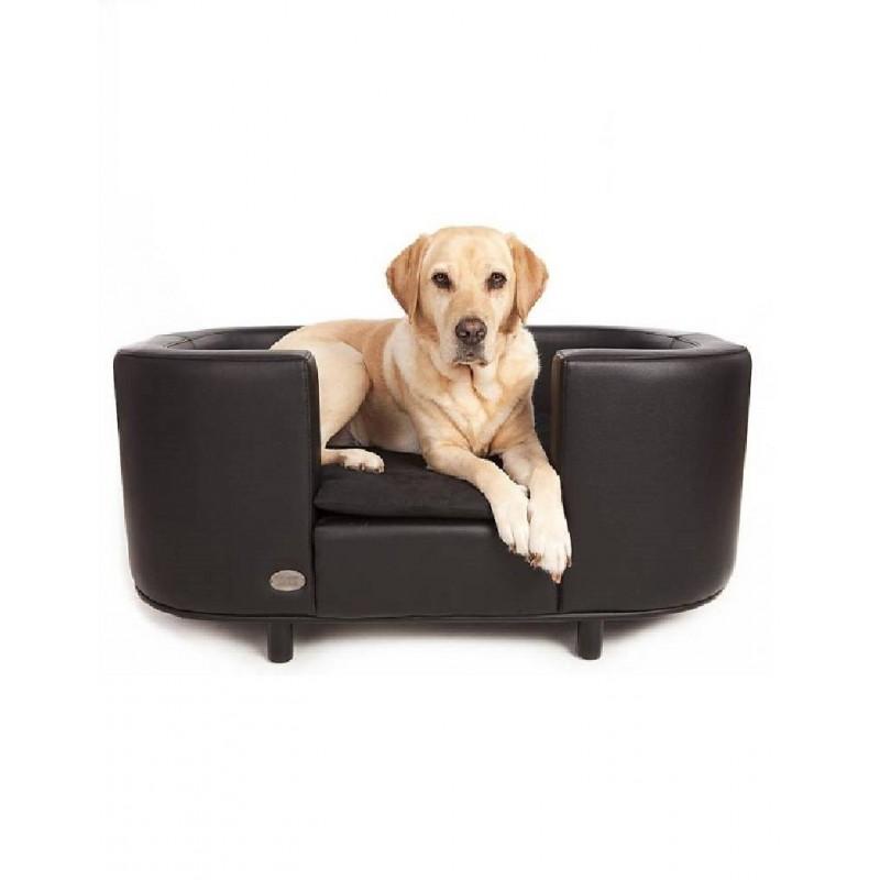 canap pour chien original anto fauteuil pour chien cuir panier pour chien. Black Bedroom Furniture Sets. Home Design Ideas