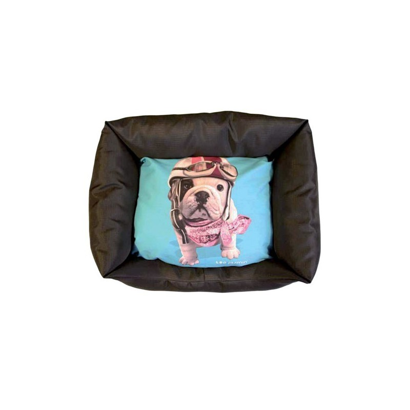 panier pour chien teo jasmin corbeille pour chien bouledogue fran ais. Black Bedroom Furniture Sets. Home Design Ideas