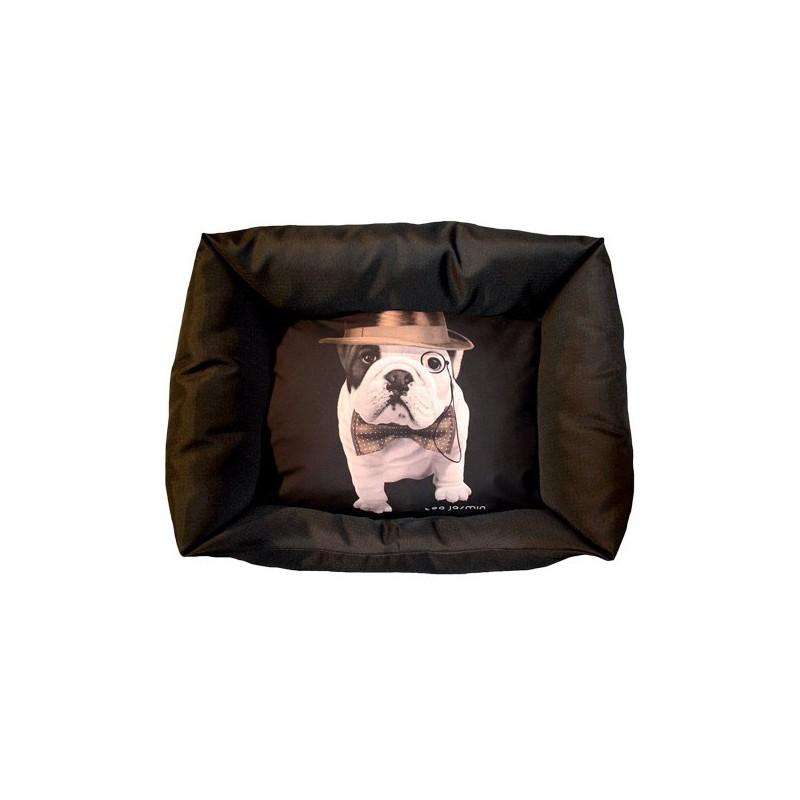 panier pour chien teo jasmin corbeille sofa pour chien bouledogue fran ais. Black Bedroom Furniture Sets. Home Design Ideas