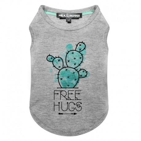 Tshirt pour chien cactus - T-shirt pour chien Milk&Pepper