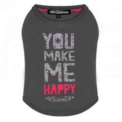 Tshirt pour chien Happy - Milk&Pepper